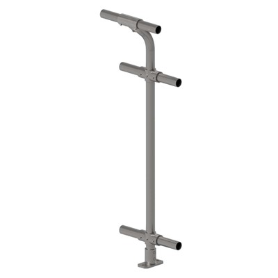6130 - Cycle Safe Handrail - Standard Top, Mid and Lower Rails