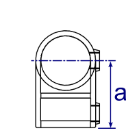 Dimensions Image 1 - 125 - 90° Elbow